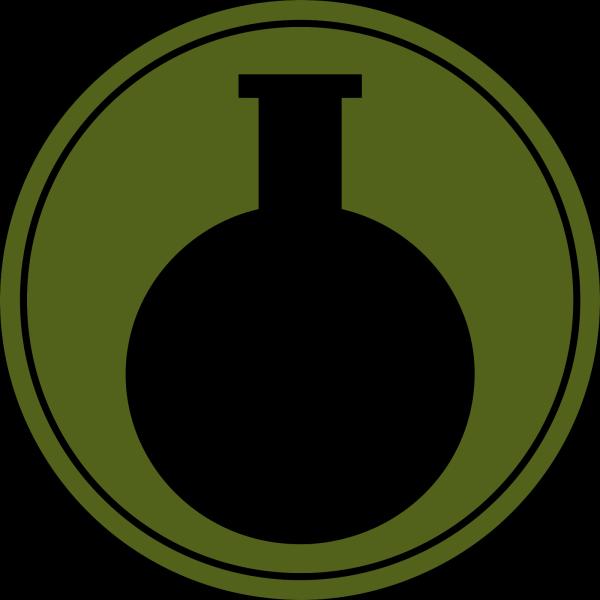 Brown Flask Beaker PNG Clip art