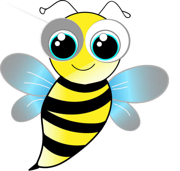 Bumble Bee No Smile 2 PNG Clip art