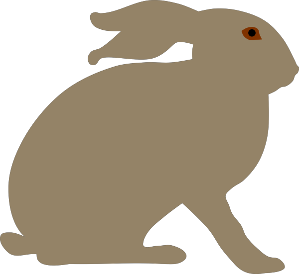 Rabbit No Smile 2 PNG Clip art