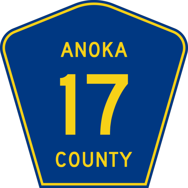 Anoka County Route PNG Clip art