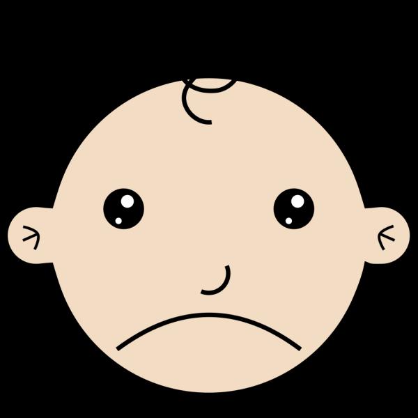 Sad Baby PNG Clip art