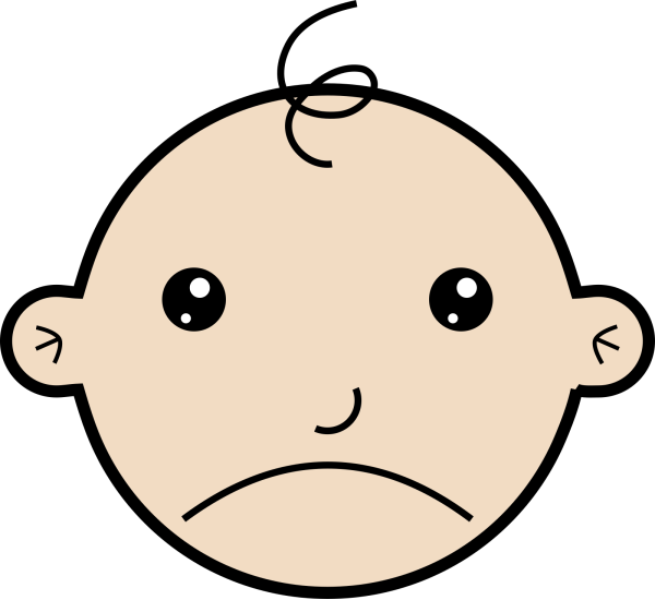 Sad Baby 2 PNG clipart