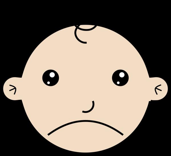 Sad Baby 2 PNG Clip art