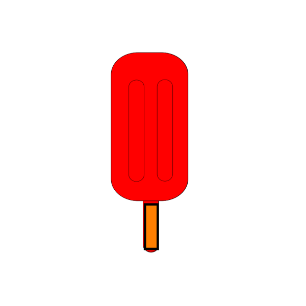 Red Popsicle PNG Clip art