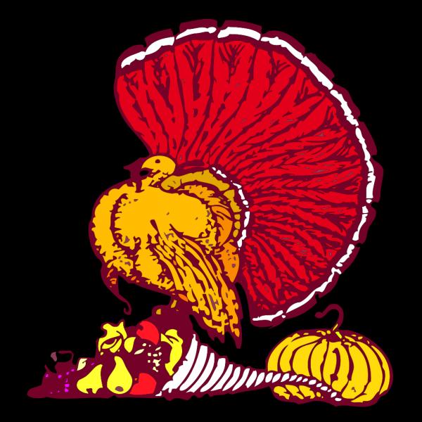 Brown Turkey Body PNG Clip art