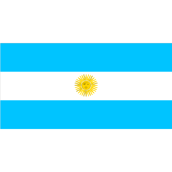 Flag Of Argentina Clip art