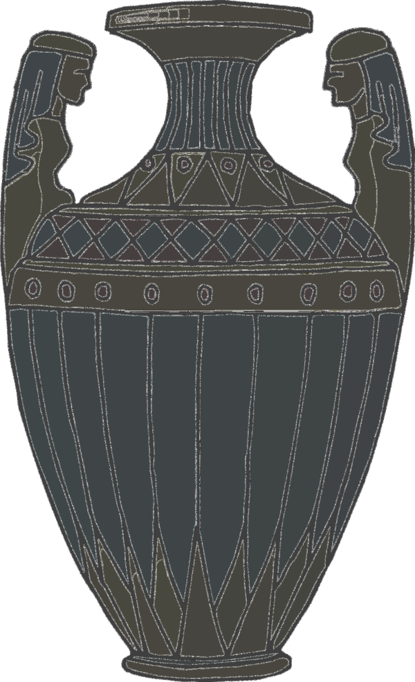 Vase With Catimage PNG Clip art