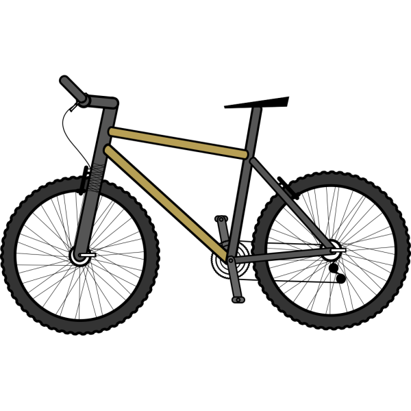 Bicycle 01 PNG Clip art