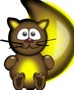 Sitting Cat PNG Clip art