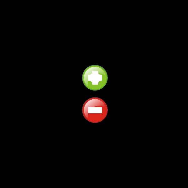 Glass Buttons PNG Clip art