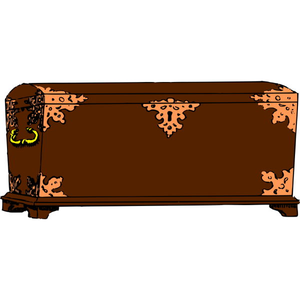Jzedlitz Old Chest clipart