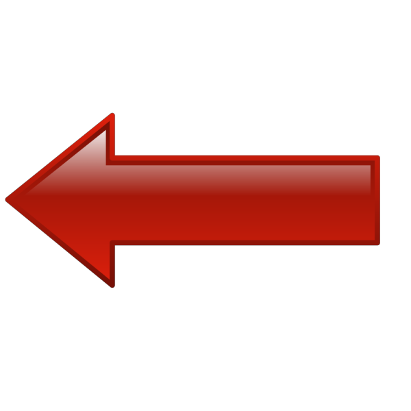 Arrow-left-red PNG Clip art