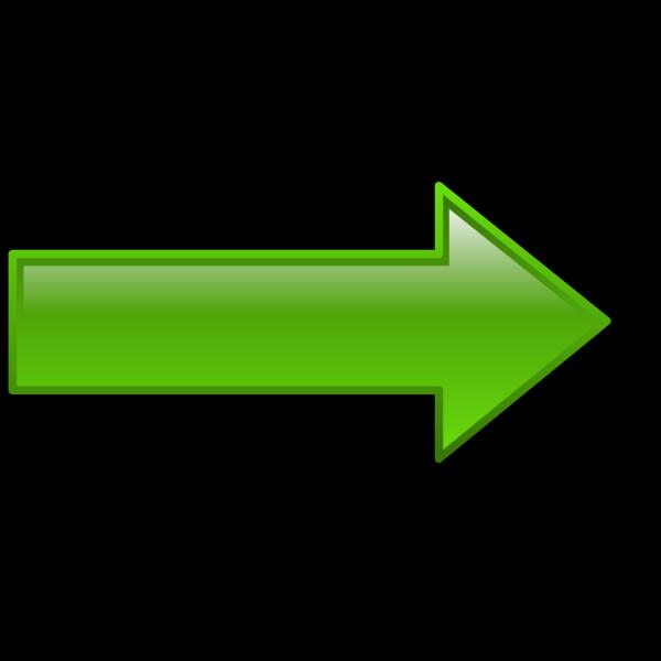 Arrow-right-green PNG Clip art
