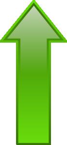 Arrow-up-green PNG Clip art