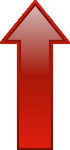 Arrow-up-red PNG Clip art