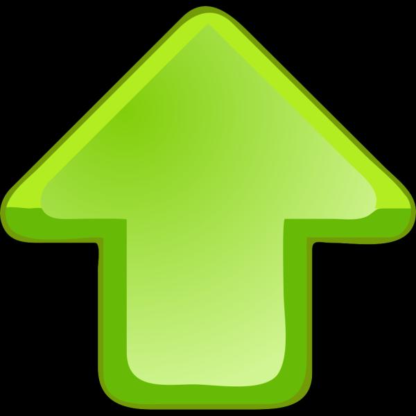Up Arrow Green PNG Clip art