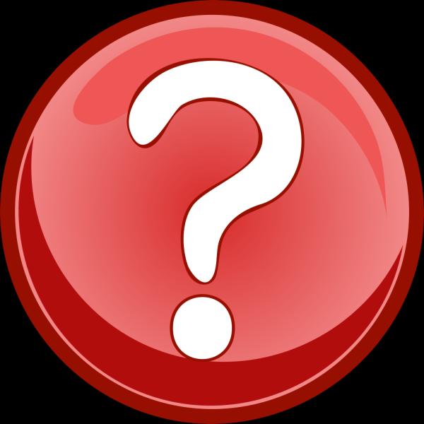 Question Button PNG Clip art