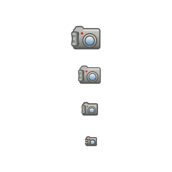 Digital Photo Camera Icon PNG Clip art