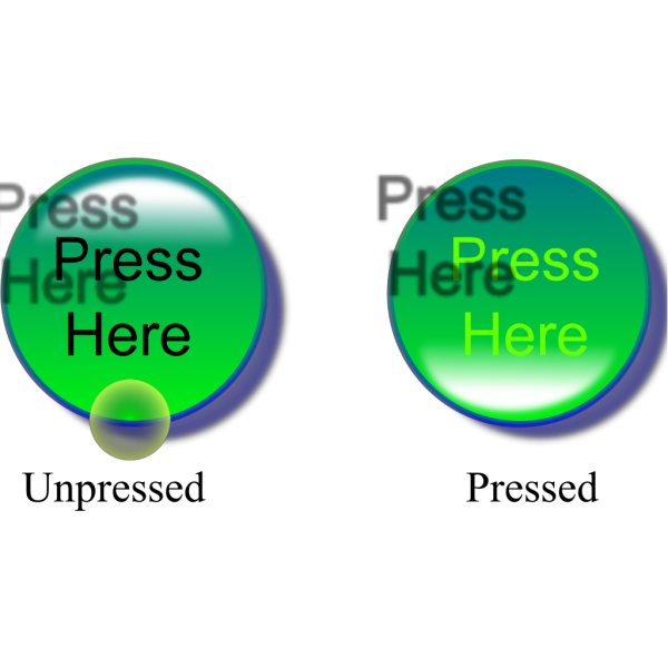 Press Here Buttons PNG Clip art