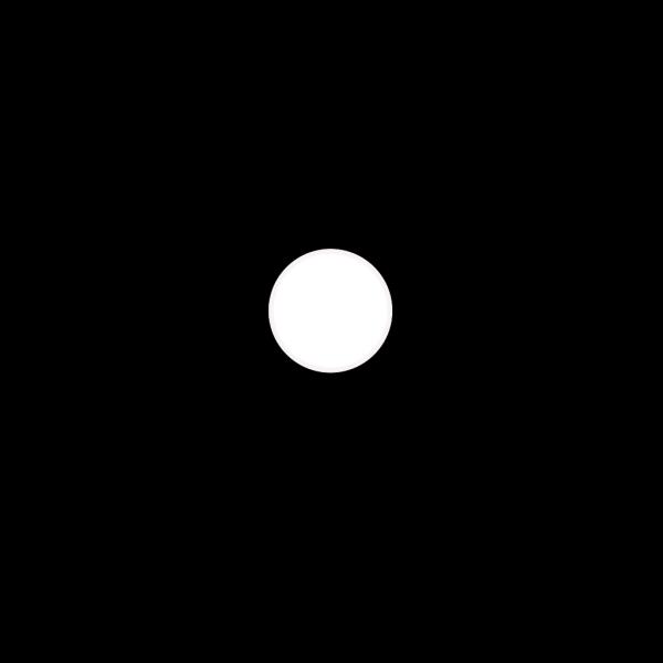 White Circle Button PNG Clip art