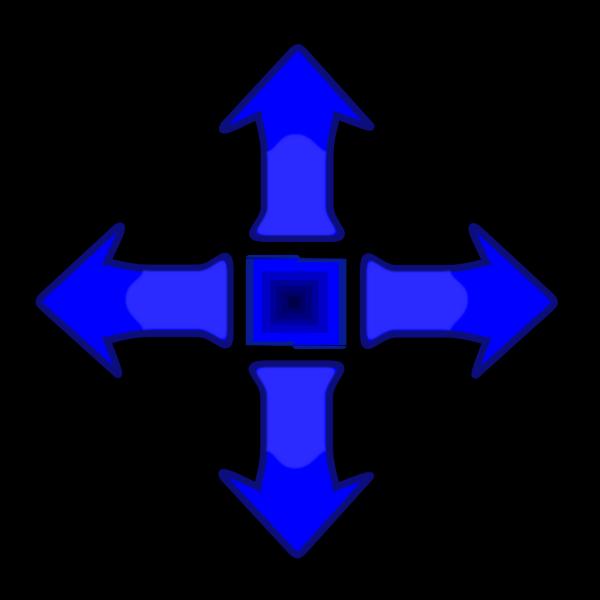 Game Controller Arrow Set Smooth PNG Clip art