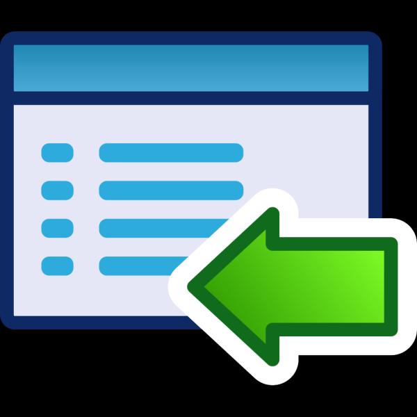 Green Menu Icon Set Left PNG icon
