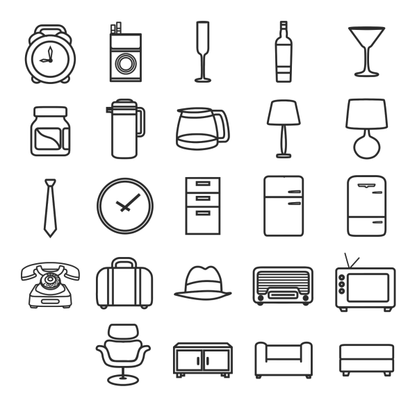 Red Menu Icon Set Down PNG clipart