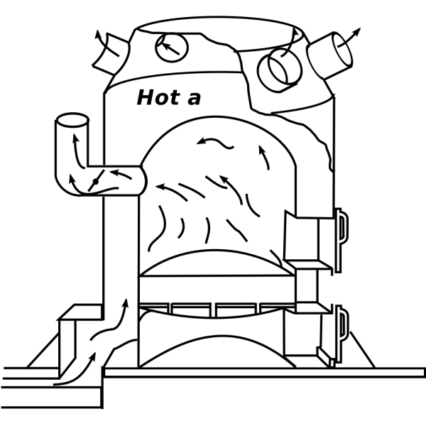Furnace Poker PNG Clip art