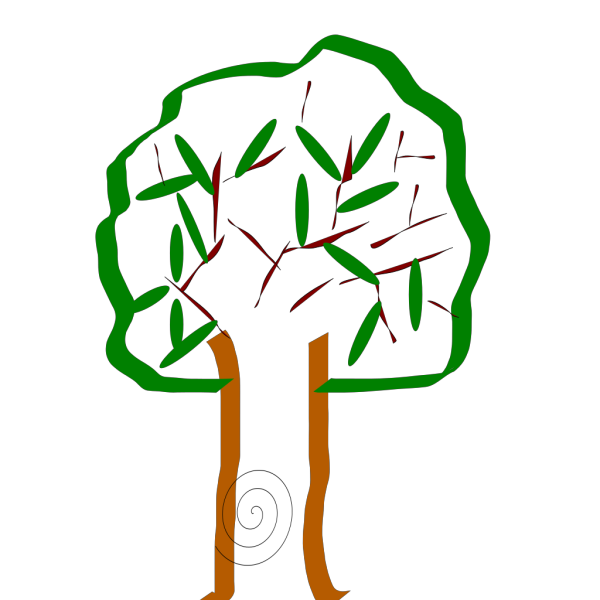 Tree Silhouette PNG Clip art