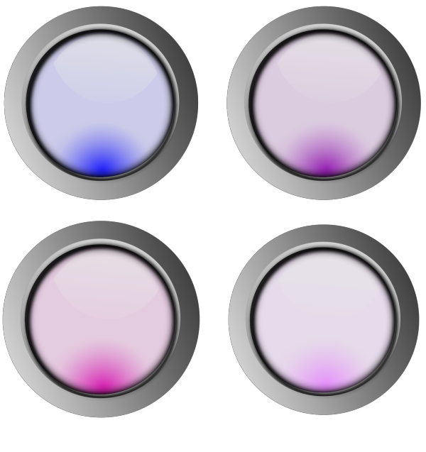Glossy Buttons PNG Clip art