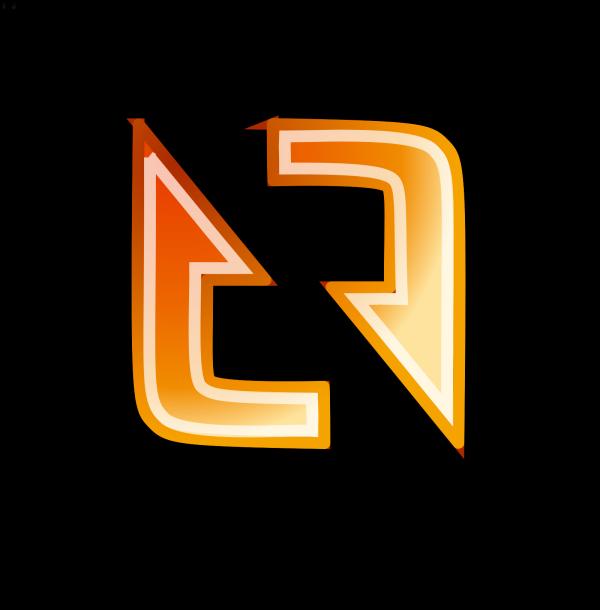 Orange Rectangle Button 1 PNG Clip art
