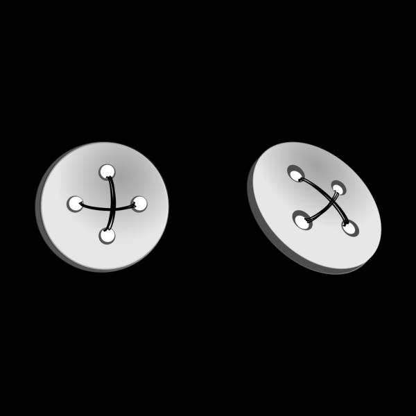 Gray Button PNG Clip art