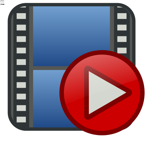 Glossy Media Player Buttons PNG Clip art