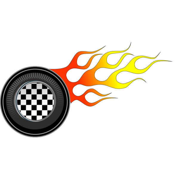 Racing Wheels Illustration PNG images