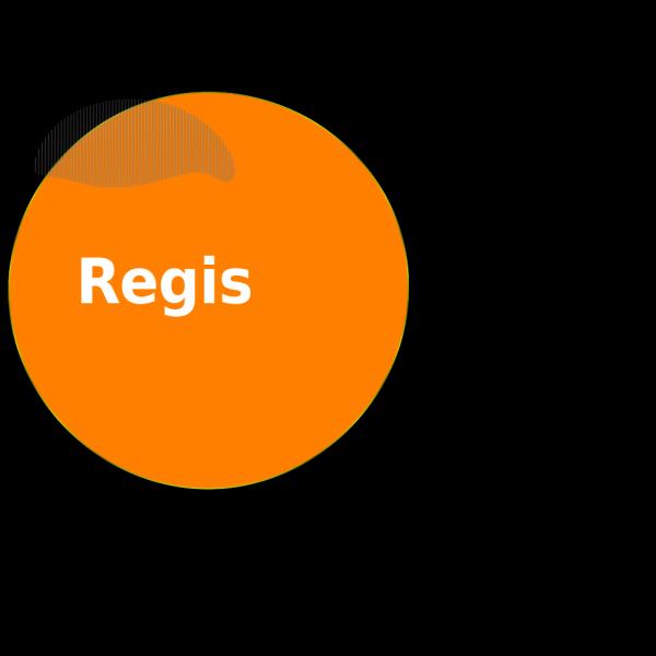 Orange Button 2 PNG Clip art