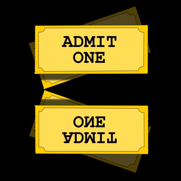Return Ticket Button PNG Clip art