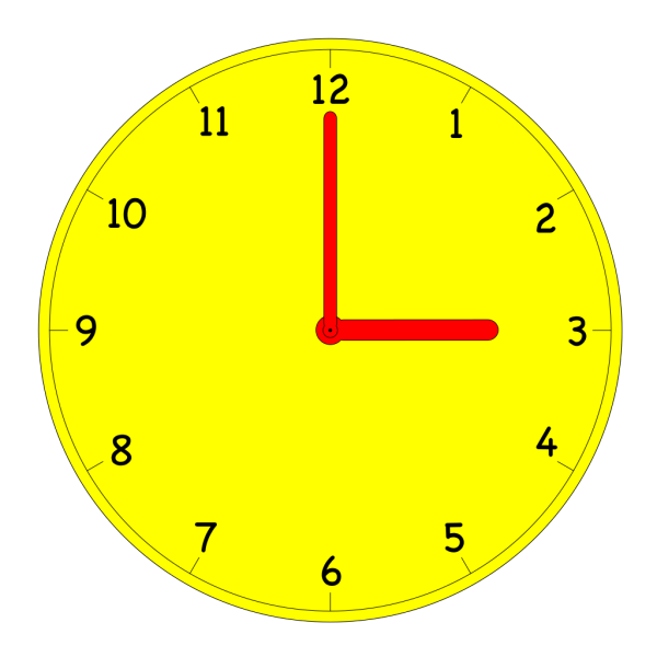 Alarm Clock Simple PNG images