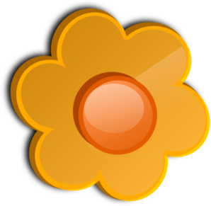Flower Button PNG clipart