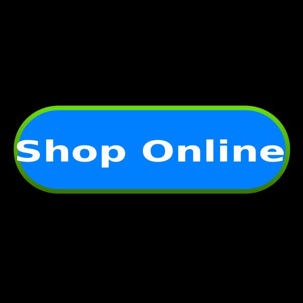 Shop Online Button 2 PNG Clip art