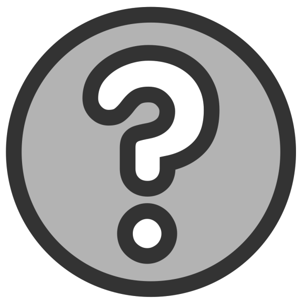 Question Button 2 PNG Clip art