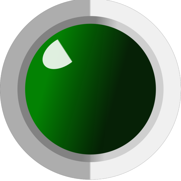 Green Led Off (labview Style) PNG Clip art