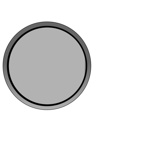 Gray Button PNG Clip art