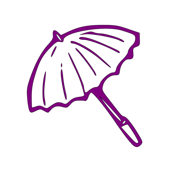 Purple Umbrella PNG Clip art