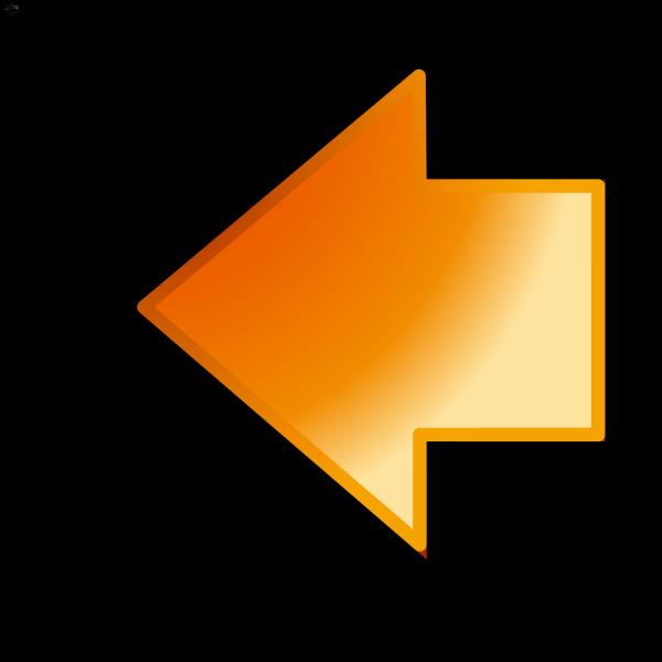 Dark Orange Button PNG icon