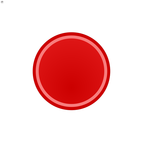 Red Rectangle Button PNG Clip art