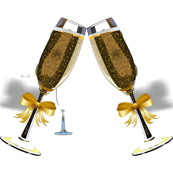 Champagne No Back PNG images