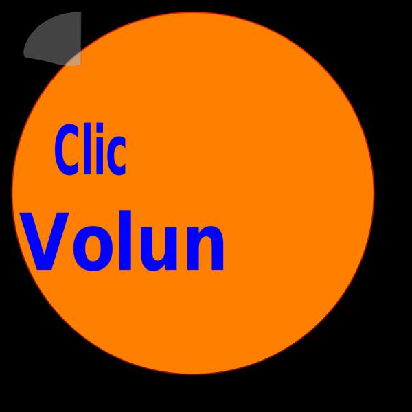 Town Volunteer Button PNG Clip art