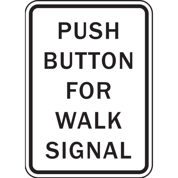 Push Button For Walk Signal PNG Clip art