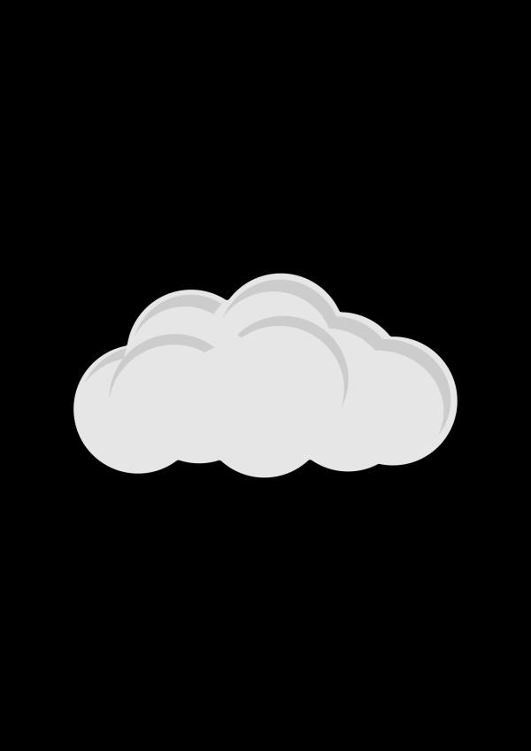 Cloud Bud PNG Clip art