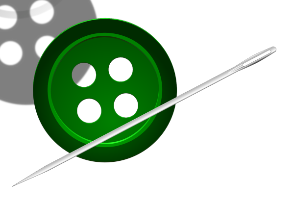 Green Button PNG Clip art